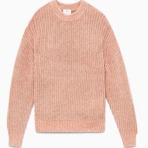 Aritzia Wilfred Essential Chenille Oversize Knit Sweater